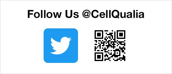 Follow Us @CellQualia